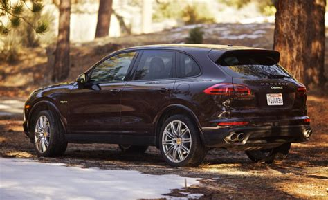 2017 porsche cayenne s e hybrid review all cars u need