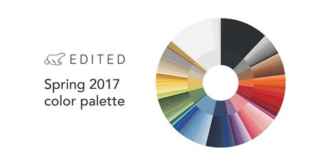2017 colour palette the definitive guide to spring trends edited
