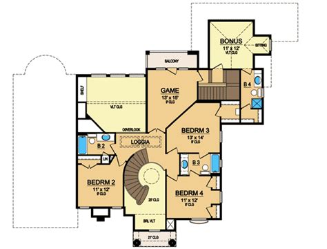 house plans with curved staircase curved staircase 36310tx 1st floor master suite bonus room butler walk in pantry