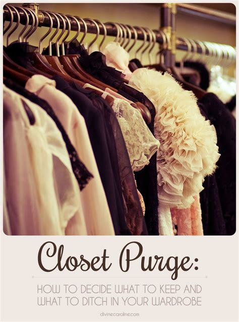 How To Purge Your Closet by Closet Purge How To Decide What To Keep And What To Ditch