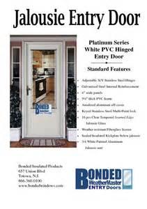 Vinyl French Patio Doors Replacement Jalousie Entry Door