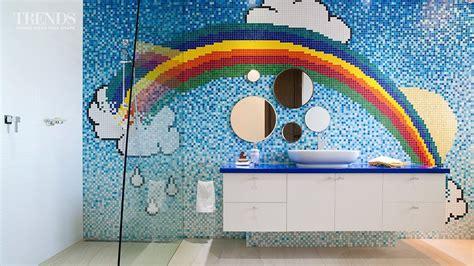 rainbow bathrooms magical rainbow bathroom designed for a young girl youtube