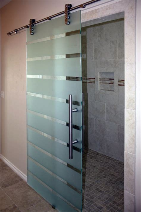 Shower Barn Door Laguna Barn Doors Shower Doors Of Dallas