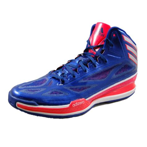adizero shoes basketball adidas mens adizero light 3 blue basketball shoes q32582