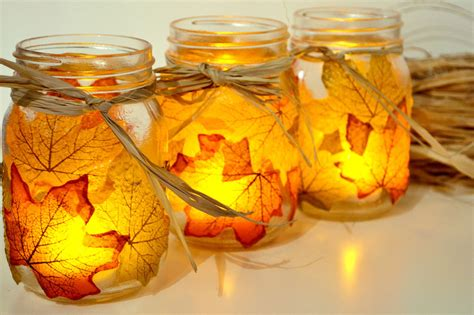 autumn craft projects 25 jar fall crafts autumn diy ideas with jars
