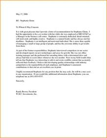 cover letter recommendations letter of recommendation from coworker recommendation