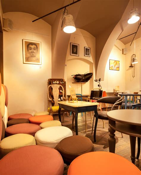 Best Kitchen Design For Small Space eclectic coffee shop style in the heart of transylvania
