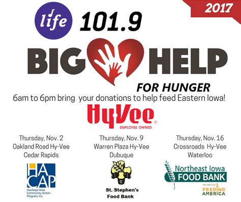 big help for hunger 101 9