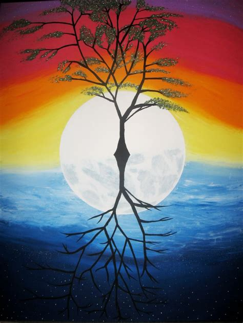 paint nite during the day 17 best images about tree of on trees