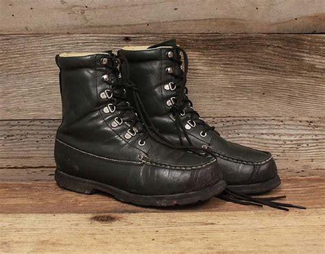 cabelas mens outdoor leather ankle boots sz 7d