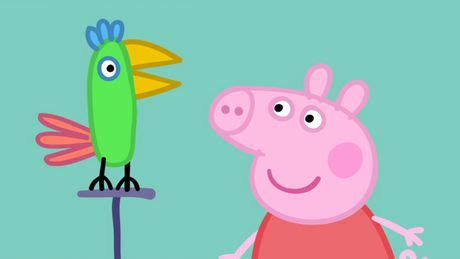 Polly George Does Birds by Peppa Pig Polly Parrot Abc Iview