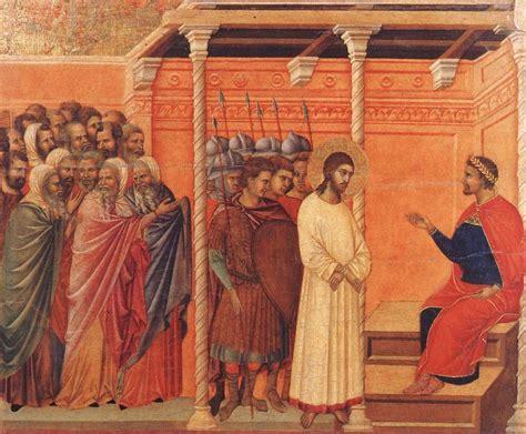 imagenes de jesus ante pilato jes 250 s ante pilatos pregunta santoral