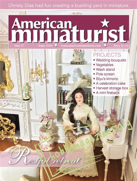 the best american magazine writing 2017 books american miniaturist may 2017 187 hobby magazines free