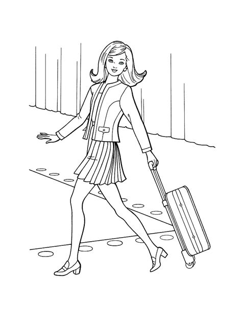 top model coloring pages to download and print for free