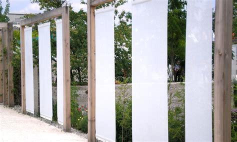 Kreativer Sichtschutz Garten