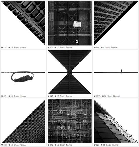 instagram layout inspiration surreal black and white instagram collages ignant com