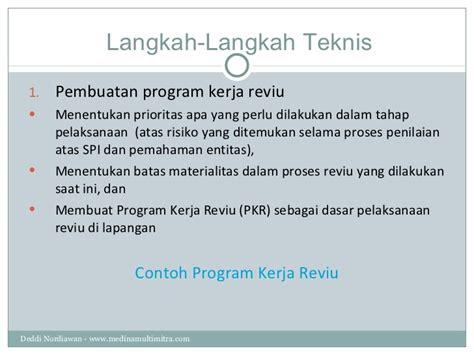 format laporan spi reviu laporan keuangan pemerintah daerah