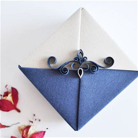 Origami Necklace Box - jewelry gift box small origami from kagitlik on etsy