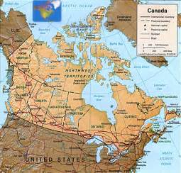 images of canada map canada map state map