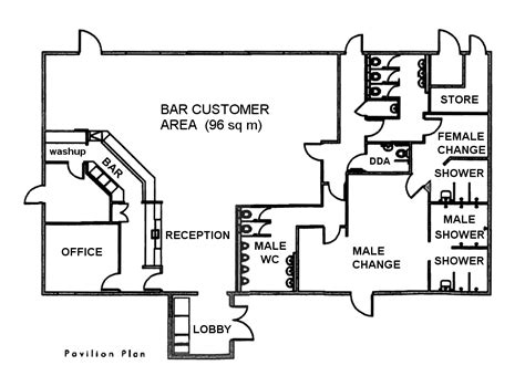 Sports Bar Floor Plans | 28 sports bar floor plan commercial projects sports