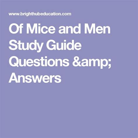 Of Mice And Essay Questions by 26 Best Wfc Eng10 Of Mice And Images On Of Mice And Classroom And