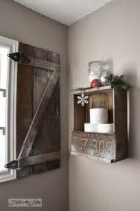 Barn Door Windows Decorating How To Build Your Own Barn Wood Shutterfunky Junk Interiors