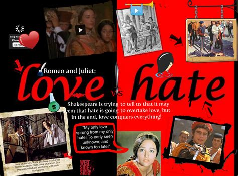 romeo and juliet themes love vs hate hate romeo and juliet quotes quotesgram