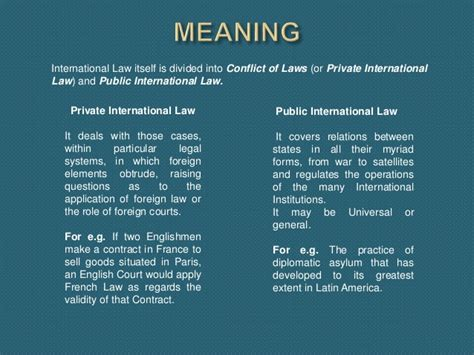 tutorial questions public international law public international law vs private international law