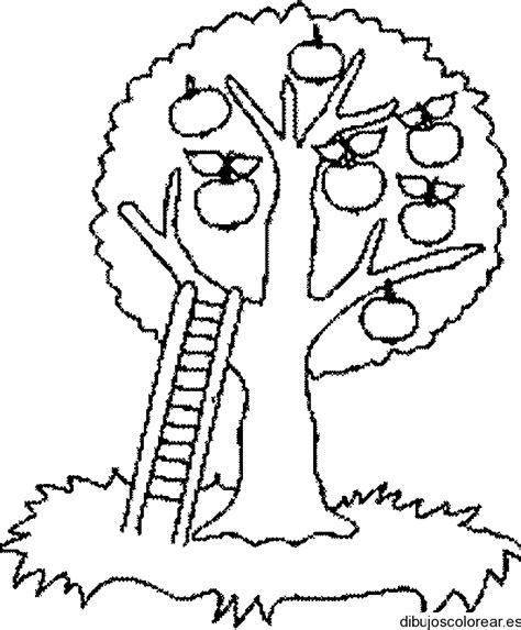 imagenes para dibujar un arbol dibujo de un manzano