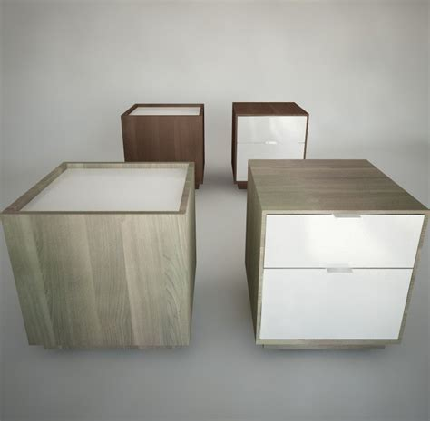 Ikea Nyvoll by Nyvoll Nightstands Ikea Furniture 3d Max