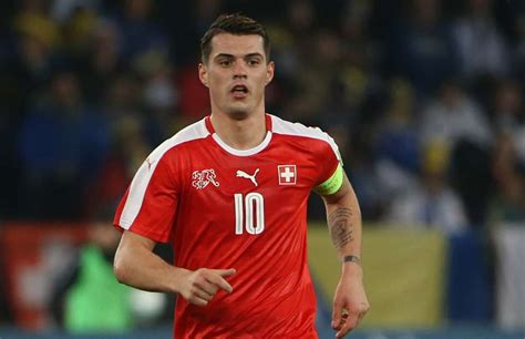 granit xhaka s proud to see his two sons play