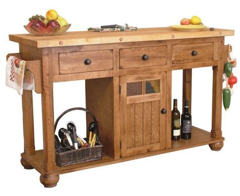 Sedona Rustic Oak Kitchen Island Table 44 Best Images About Future Furniture On