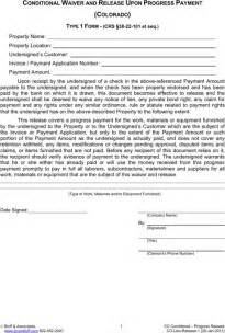 download colorado lien release form for free formtemplate