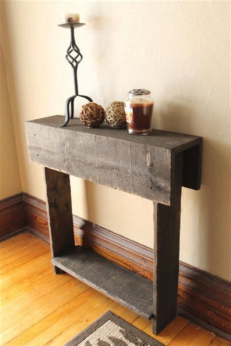 Beautiful Entryway Tables Entryway Table Make Out From Rustic Pallet Pallets Designs