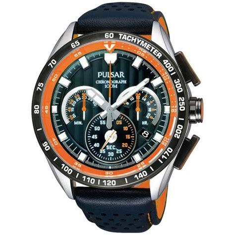 montre pulsar pu2071x1 montre cuir orange homme sur bijourama n 176 1 de la montre homme