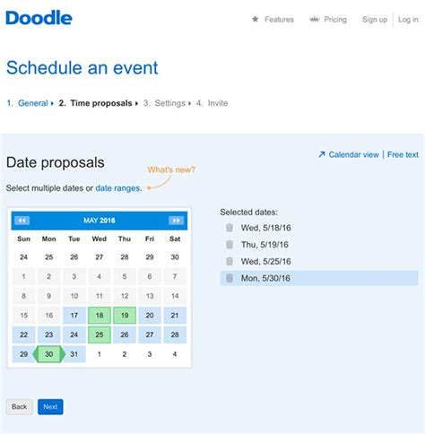 doodle schedule event md tech tips use doodle to schedule meetings quickly