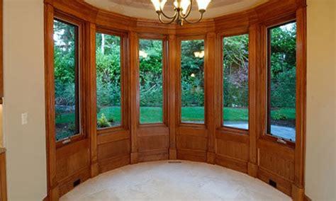 interior bay window stained wood trim yelp