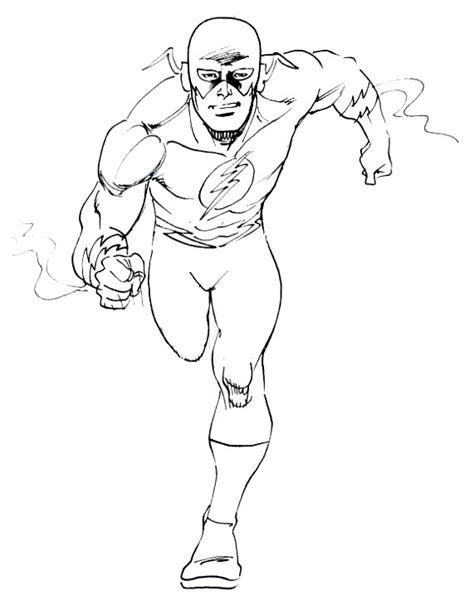 flash coloring pages the flash coloring pages sketch coloring page