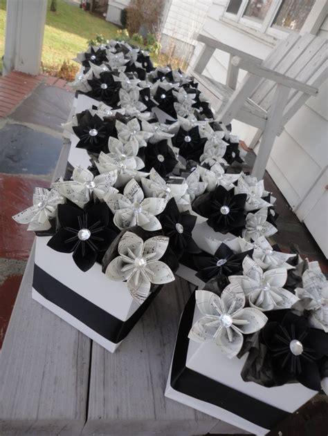 Origami Wedding Centerpieces - sheet centerpieces origami kusudama paper flower