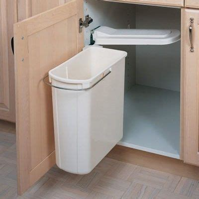 under sink trash can with kitchen organization swing out cabinet trash can under
