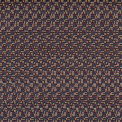 black and red upholstery fabric red black yellow and blue geometric contract upholstery