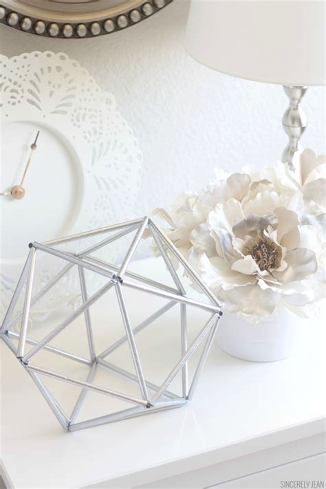 geometric home decor diy geometric decor for 1 sincerely jean
