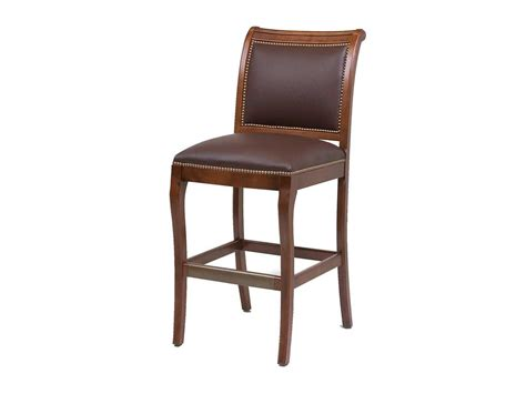 chateau bar stool classic leather chateau bar stool cl6429abs
