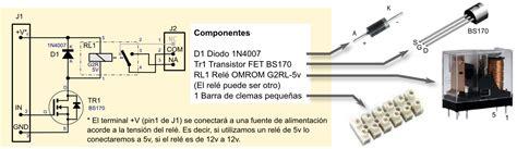 transistor fet interruptor txapuzas electr 243 nicas clemarel 233 de un rel 233 circuito impreso