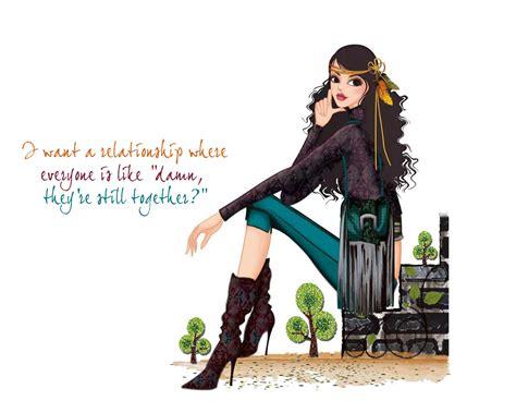 wallpaper of girl with attitude bad girl attitude quotes quotesgram