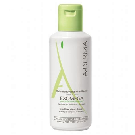Omega 500 Ml By Guch Shop by A Derma Exomega Huile Nettoyante Emolliente 500ml