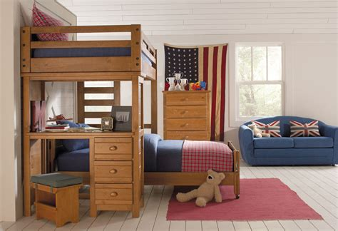 Bunk Bed With A Desk Bunk Beds With Desk Designs In Functional And Midcityeast