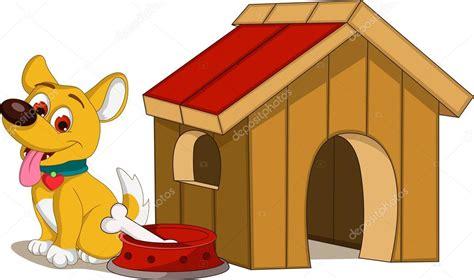 dog house pictures cartoon casa y perro de dibujos animados vector de stock 169 starlight789 40707689