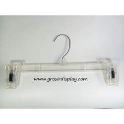 Display Hanger Rok Gantungan Bawahan 25 Cm Putih Display Toko Murah hanger gantungan 5 grosir display