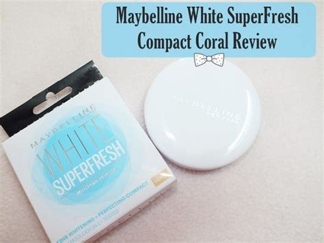 Maybelline White Superfresh Compact maybelline white superfresh compact coral review
